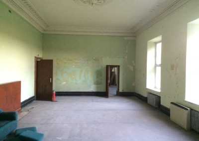 Before - the drawing room