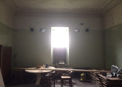 Before - the dining room